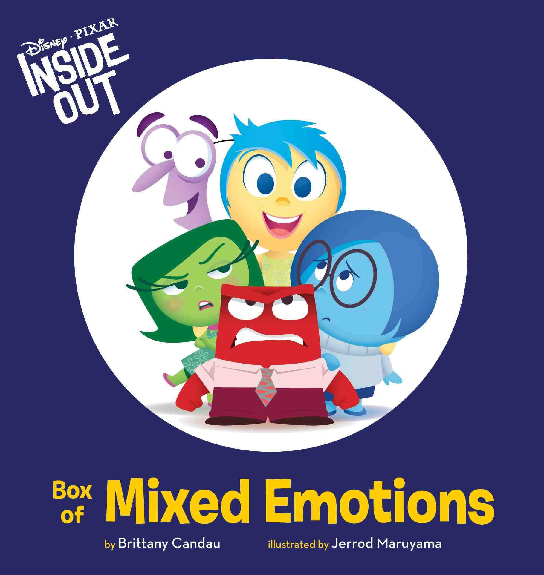inside out meet the emotions book